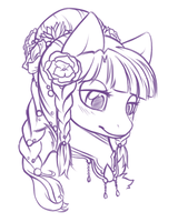 Future Plant Pony Adopt preview by Crystal-Comb