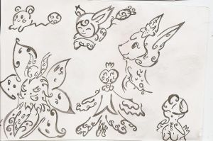 Tattoo Pokemon Sheet by Sulfura