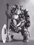 Dwarf warlord2 by BenedictWallace