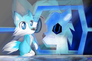 AT: Futurism : Barook the wolf , wallpaper by lifegiving
