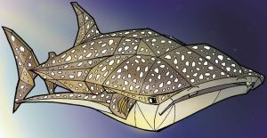 whale shark by Doomsday90