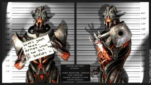 Mass Effect Mugshot - Marauder Shields by The-JoeBlack