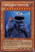 The cookie monster by Weirddudeguy