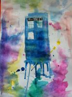 TARDIS:funnel time by Stylo-Cyborg