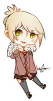 G: AndyJean cheeb by kittyalyst