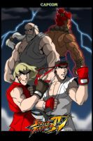 Street Fighter IV by levonn78