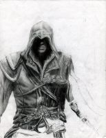 Assassin's Creed II Drawing by artmkc