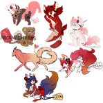 Fortune Pups Valentines Batch! - ad by WolfusImagius