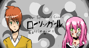 Rolling Girl ISCRIBBLE by PickledCandyPants07
