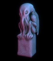 Cthulhu Idol by surrealdeamer