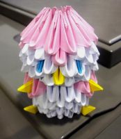 Baby Penguin - 3D Origami by SophieEkard