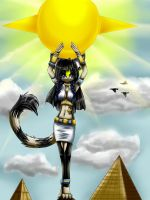 Bastet the Cat by Aschenstern