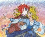 Alice and Tarrant in Titanic by Kiyomi-chan16