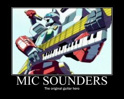 Mic Sounders the 13th by ChrisSaunders