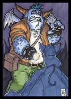 Sketch Card-A-Day 2013: 025 by lordmesa
