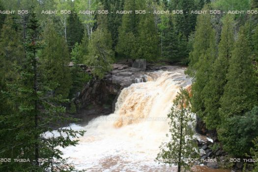Gooseberry Falls, Upper by Agent505