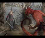 Arena commission by VictoriaDAEDRA