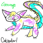 George the catgator by pup1016AJ