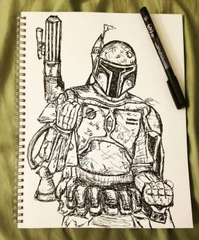 Boba Fett by theClementine17