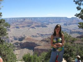 The Grand Canyon... and me by Sunnyforever1234
