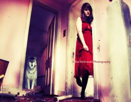 never cry wolf.... by KatMPhotography