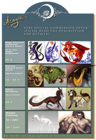 VERY special commission offer! by Acayth