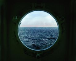 we see ... through a porthole by sanjab