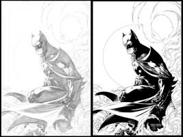Batman Inked by caananwhite