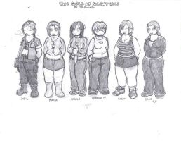 The Girls of Silent Hill by DFoot86