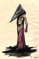 Pyramid Head by Lowenael