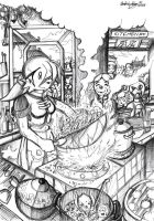 Graceful Cooking by darkspeeds