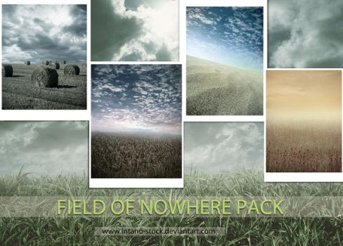 FIELD OF NOWHERE PACK by intano-stock