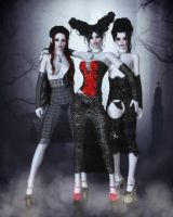 The Vamp Trio by RavenMoonDesigns