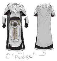 Prestige Void Knight Armour Update -SKETCH- by Halfingr