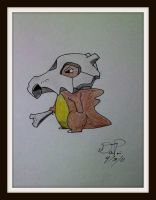 Cubone by Artistic-Imagery