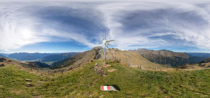 Am Goisele (2433m) - spherical panorama by cyberfish128