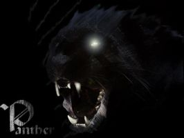 Panther by Zombie-Clock-Monkey
