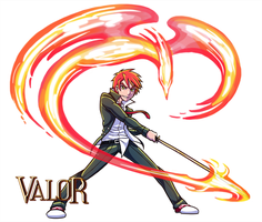 VALOR - Hiiro by SonicRocksMySocks