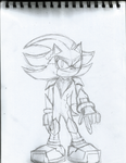 Shadow styled future Armor (Sketch) by StrobelightMaster
