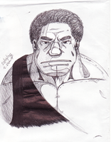 Andre the Giant by PandaPawPaw
