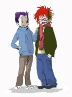 Tommy and Chuckie by futuerMANGAK