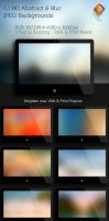 Abstract and Blur Backgrounds  V3 by LuisFaus