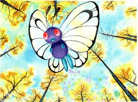 Butterfree by Bewildermunster