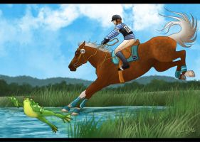 Jamjali's Olympics 3DE - Cross country by AliceYung