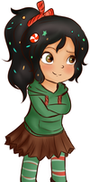 Vanellope by ColombianTwat