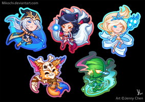 League of Legends: Key chain Set Part I by Mikochi