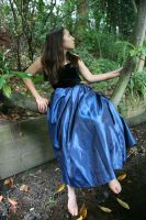 Blue Dress 3 by 212Stock