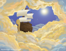The Ship in the Clouds by MysteriousJ