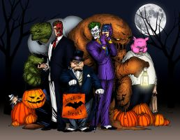 Rogue Gallery Halloween colors by Balsavor