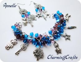 Fantasy Jewelry Set by Anne-Claire-Annelle